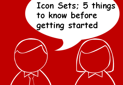 Icon Sets; 5 things to know before you buy