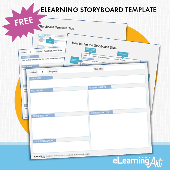 Free eLearning Storyboard Template