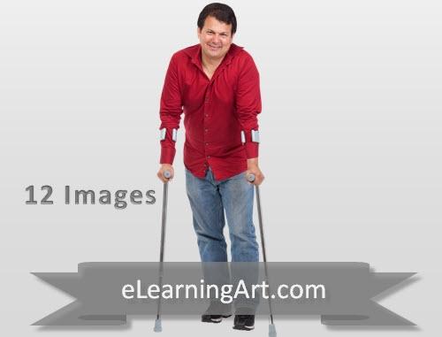 Disabilty.Crutches.Jorge