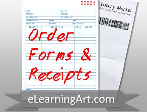 Receipt and order form images elearningart thecheapjerseys Image collections