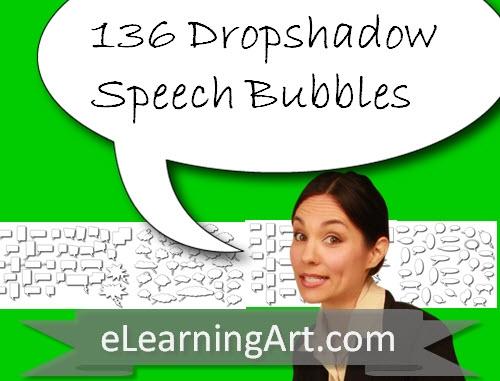 SpeechBubble.Drop.Shadow