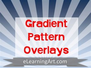 Texture-Gradient-Pattern-Over