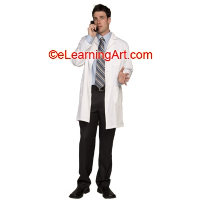 doctor-on-phone-young-man