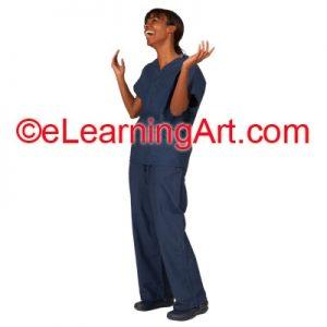 female-nurse-laughing