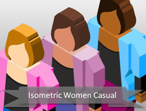 isometric-casual-female