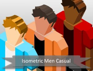 isometric-casual-male