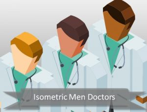 isometric-doctor-men