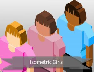 isometric-girls