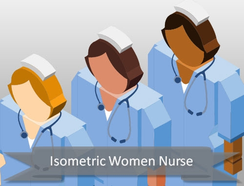 isometric-nurse-female