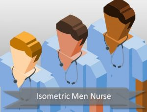 isometric-nurse-male