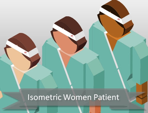 isometric-patient-female