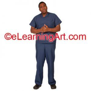 male-nurse-black-man