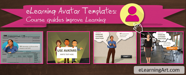 eLearning Avatar Templates
