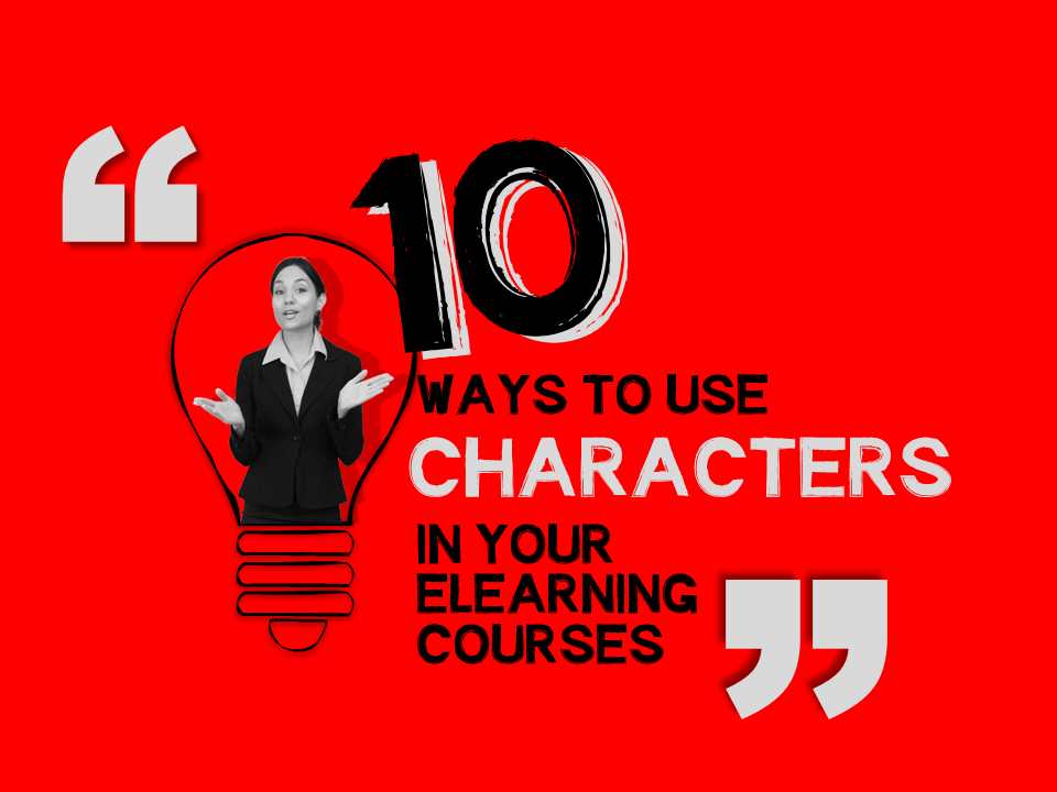 10 ways to use eLearning characters