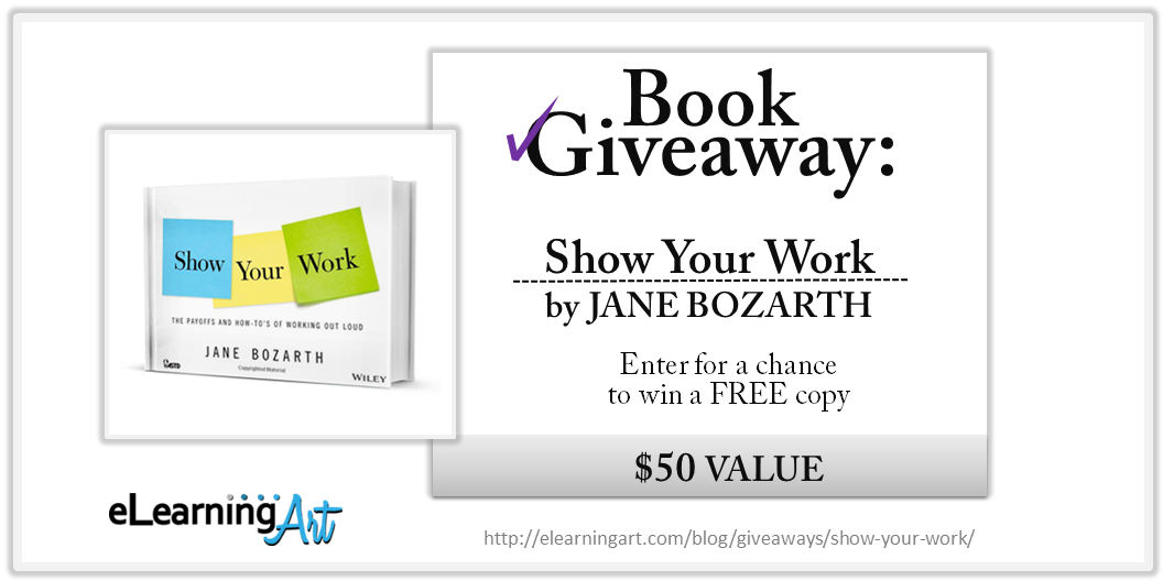 Show Your Work Giveaway