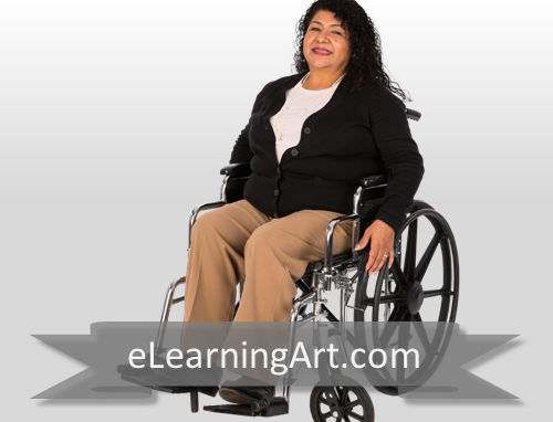Anita - Hispanic Woman in Wheelchair