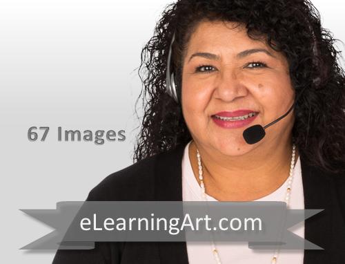 Anita Hispanic Woman on the Phone