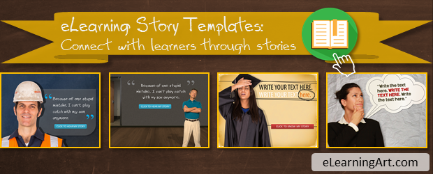 eLearning Story Templates