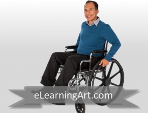 Christopher - Hispanic Man in Wheelchair