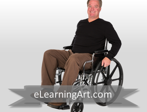 David - White Man in Wheelchair