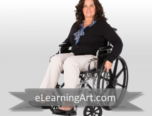 Jeanette - White Woman in Wheelchair