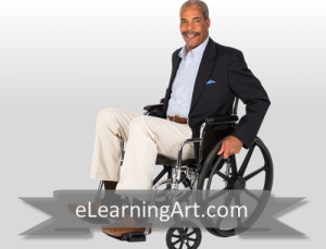 Rick - Black Man in Wheelchair