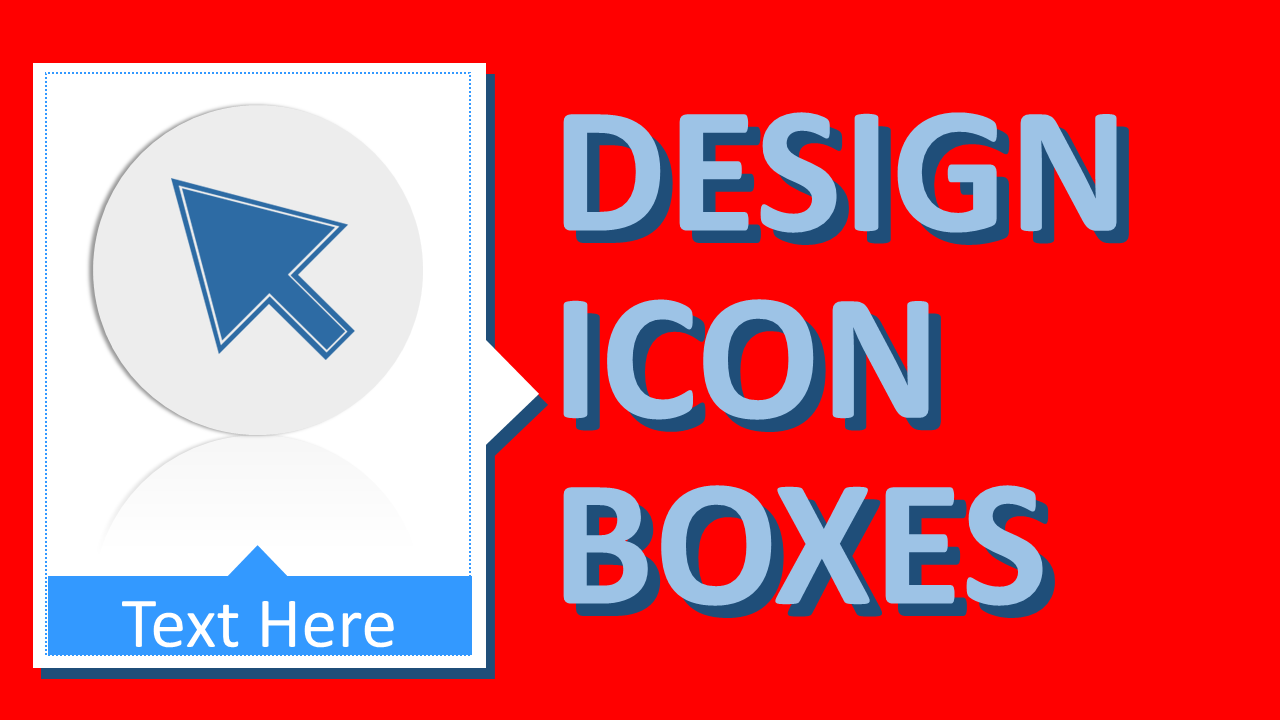 Create icons and buttons in PowerPoint tutorial