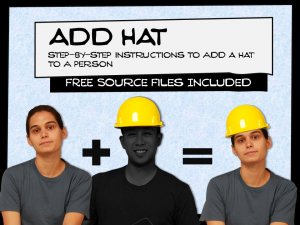 add hat to a photo