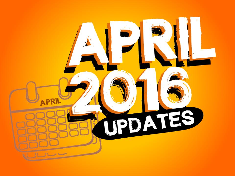 April 2016 eLearningArt Updates