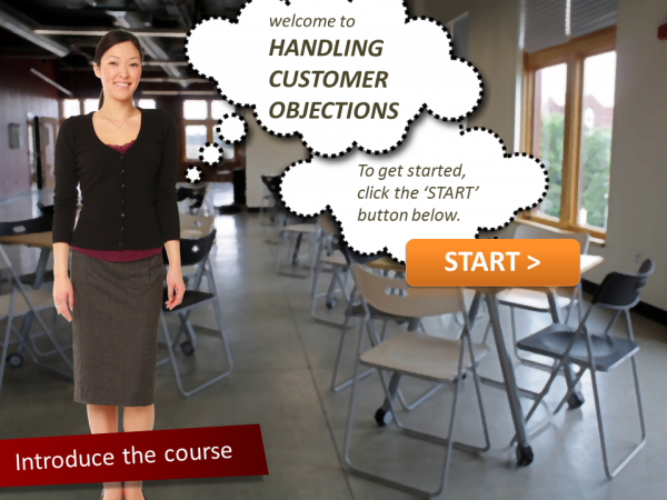 eLearning Intro Screen PowerPoint 134