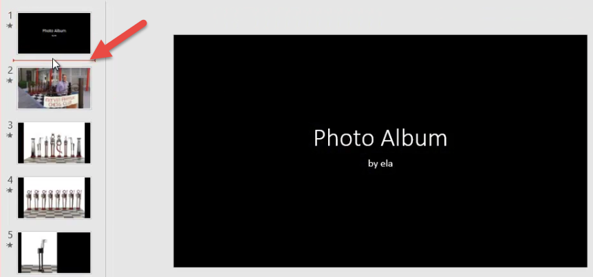 Create a photo slideshow in powerpoint elearningart 2016 07 261 19 58g toneelgroepblik Image collections