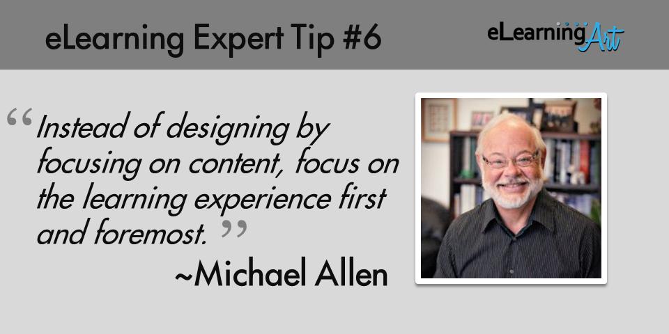 expert-elearning-tip-006-michael-allen