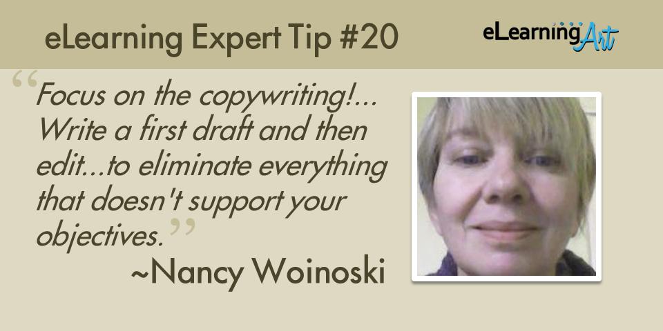 expert-elearning-tip-020-nancy-woinoski