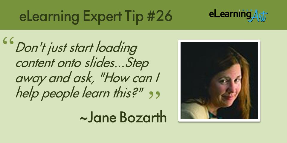 expert-elearning-tip-026-jane-bozarth
