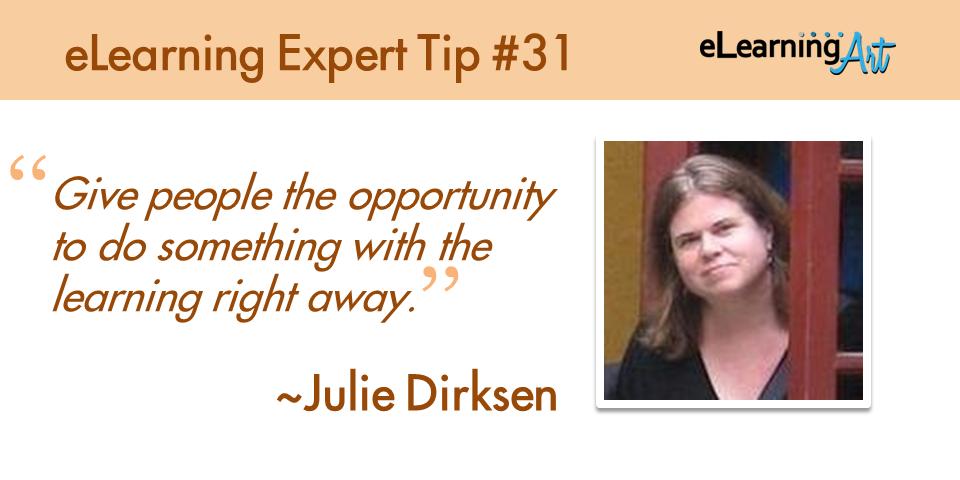 expert-elearning-tip-031-julie-dirkson