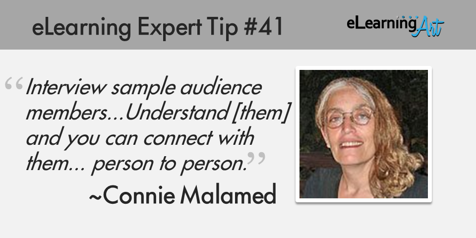 expert-elearning-tip-041-connie-malamed