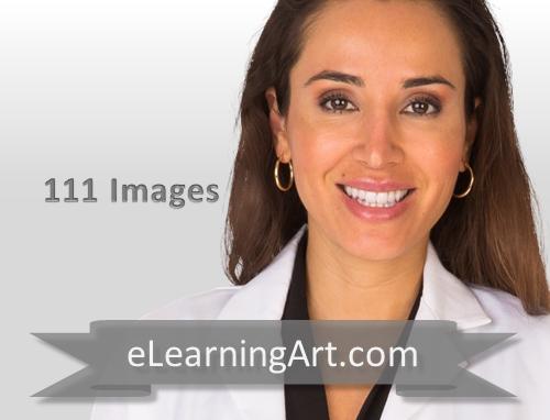 Jacqueline - Hispanic Woman in a Lab Coat