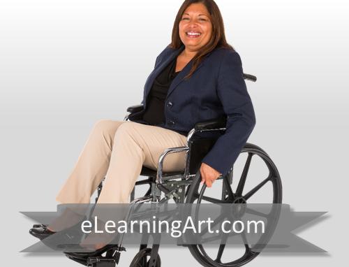 Alanda - Hispanic Woman in Wheelchair