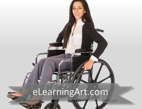 Debbie - White Woman in Wheelchair