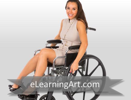 Jacqueline - Hispanic Woman in Wheelchair