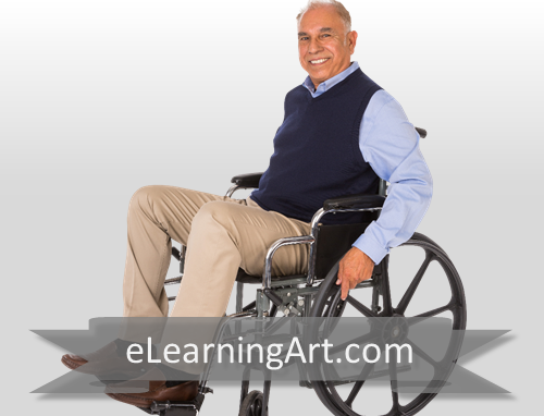 Karl - Hispanic Man in Wheelchair