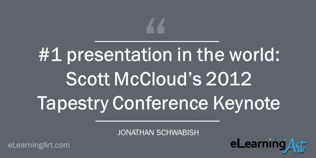 best presentation example scott mccloud