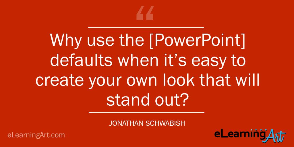create unique presentation tip - jonathan-schwabish