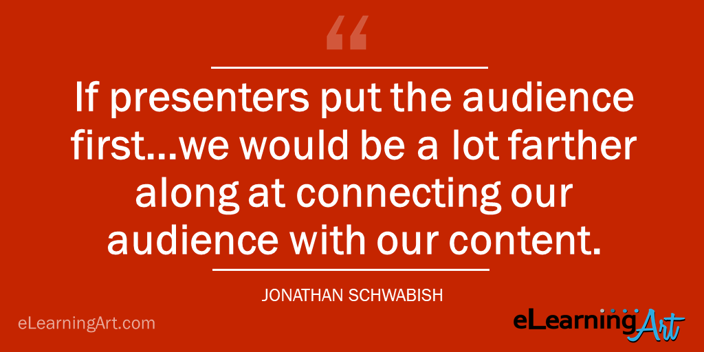 presentation tip how to connect audience jonathan schwabish