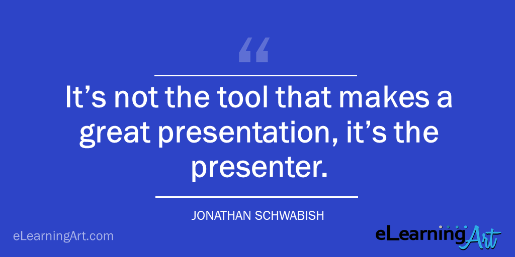 presentation tip what makes a great presentation - jonathan schwabish