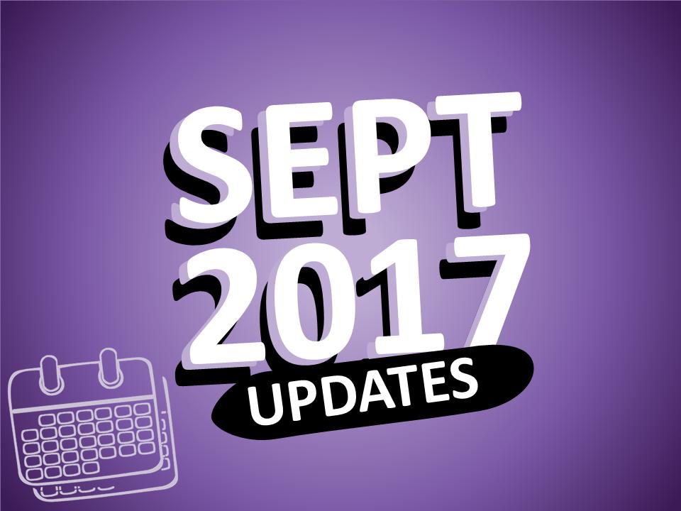 eLearningArt Updates September 2017