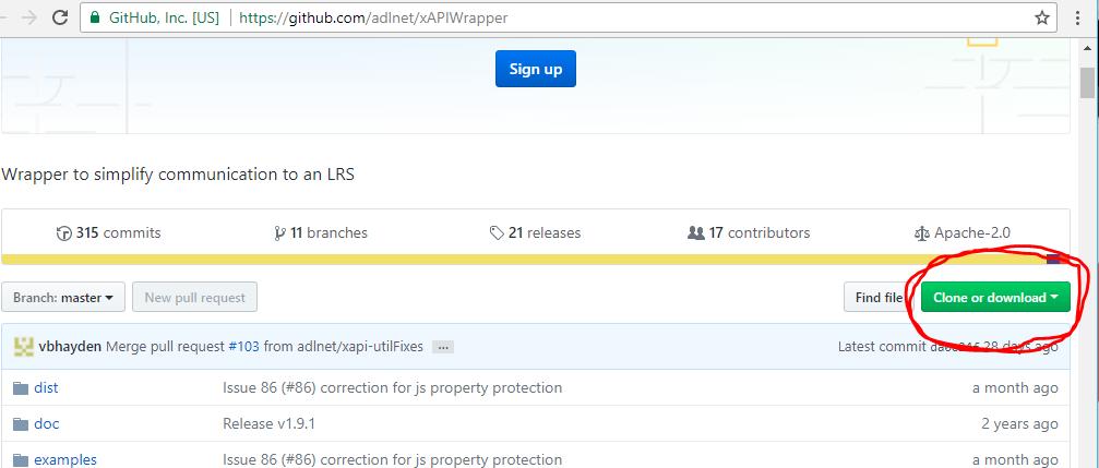 GitHub xAPI Wrapper