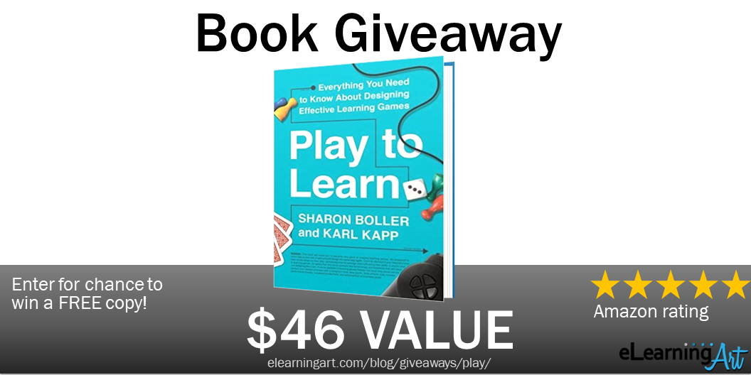 Karl Kapp Book Giveaway