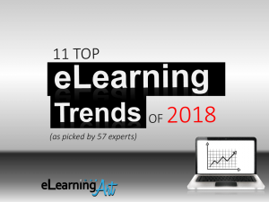 eLearning Trends 2018