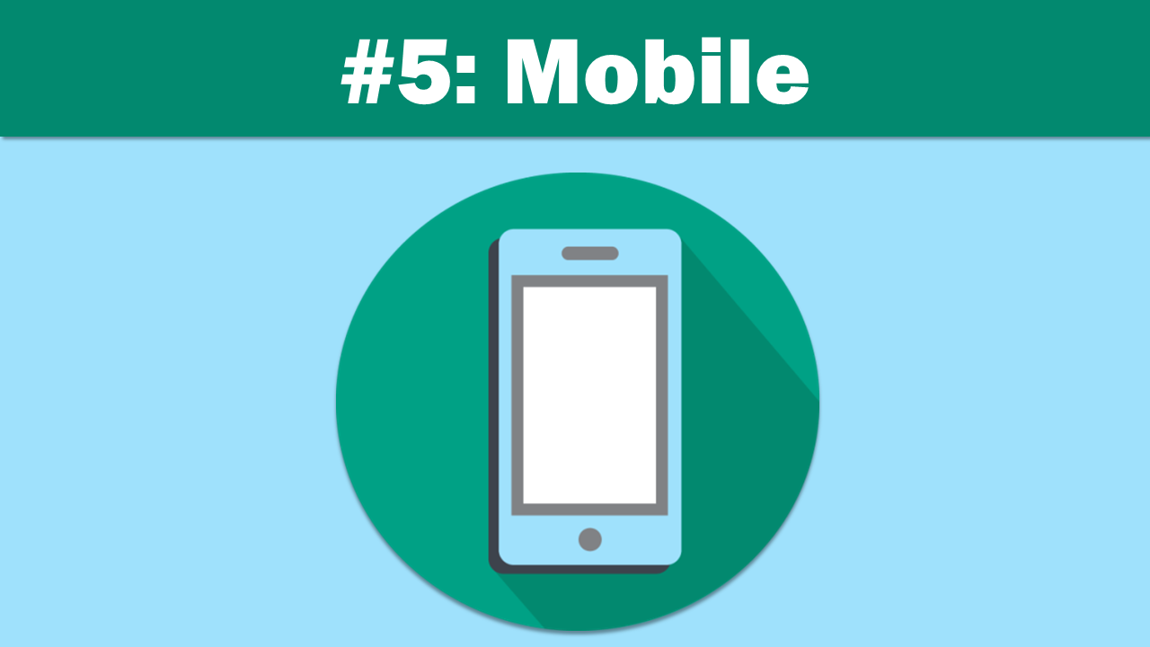 Mobile - eLearning Trends 2018